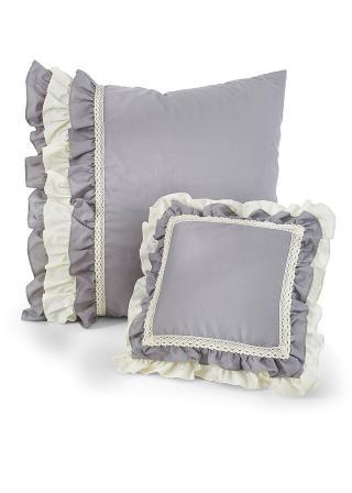Denná Deka Volánik šedá jednolôžková posteľ s čelom pri nohách 140/210 cm,jednolôžková posteľ bez čela pri nohách 180/250 cm