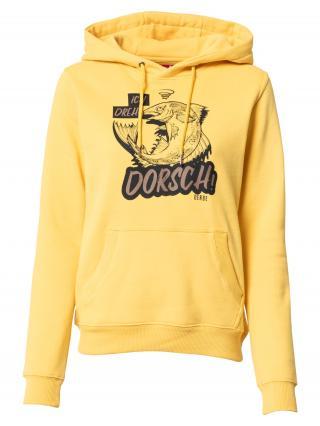 Derbe Mikina Dorsch  žltá / čierna dámské S