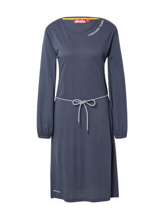 Derbe Šaty  biela / modrosivá dámské 36