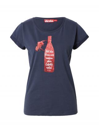 Derbe Tričko Wein Girls  námornícka modrá / biela / červená dámské S