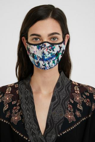 Desigual farebná rúška Mask Aquarelle