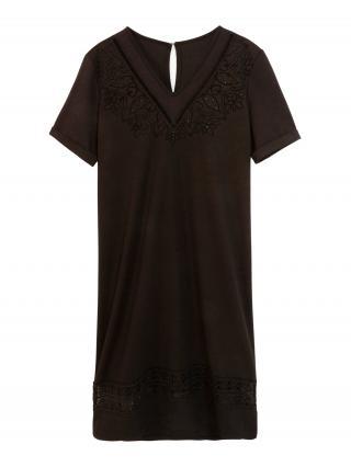 Desigual Šaty Vest Lisa  čierna dámské 38