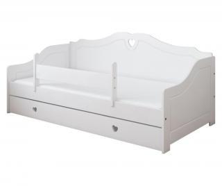 Detská posteľ  80x180 cm Biela 80x180 cm