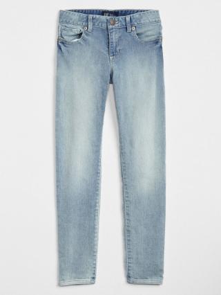 Detské džínsy super skinny jeans with stretch Modrá 110