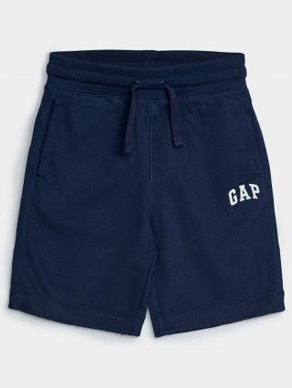Detské kraťasy GAP Logo franchise shorts Modrá 98-110
