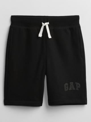 Detské kraťasy GAP Logo pull-on shorts Čierna 134-140