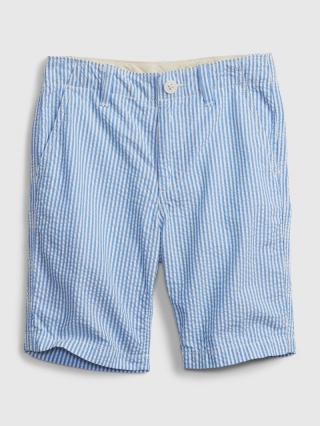 Detské kraťasy woven shorts Modrá 140