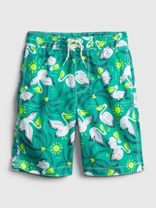 Detské plavky recycled pelican board shorts Zelená 146