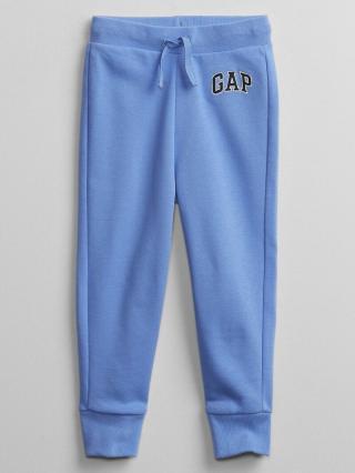 Detské tepláky GAP Logo pull-on joggers Modrá 92