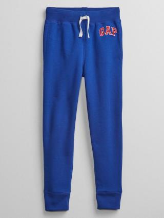 Detské tepláky GAP Logo pull-on pants Modrá 152