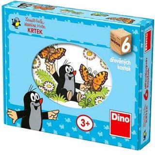 Dino Drevené puzzle – Krteček