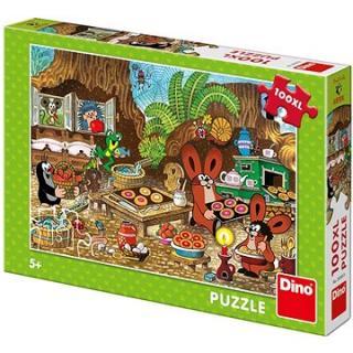 Dino Krtko v kuchyni 100xl puzzle nové