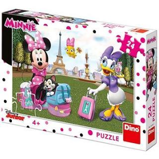 Dino Minnie v Paríži 24 dielikov