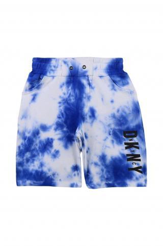 Dkny - Detské krátke nohavice modrá 162