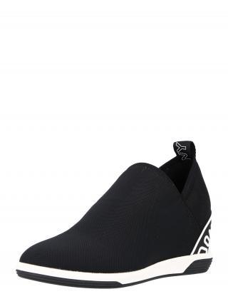DKNY Slip-on obuv CHRISTINA  čierna / biela dámské 36,5-37