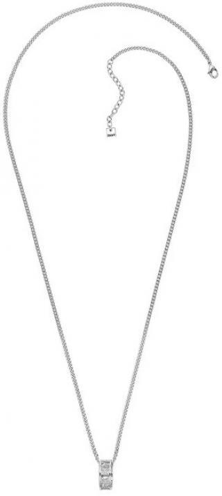 DKNY Štýlový náhrdelník pre ženy s čírymi kryštálmi Swarovski 1989 5547947