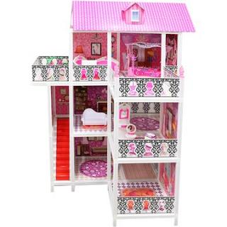 Domček pre bábiky trojposchodový