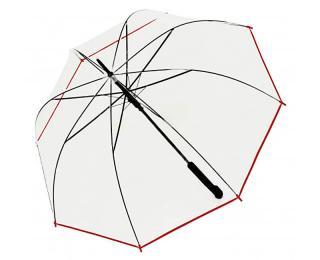 Doppler Dámsky palicový vystreľovací dáždnik Hit Long Automatic transparent Glocke 77354B 02 dámské