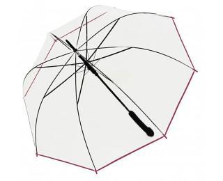 Doppler Dámsky palicový vystreľovací dáždnik Hit Long Automatic transparent Glocke 77354B 05 dámské