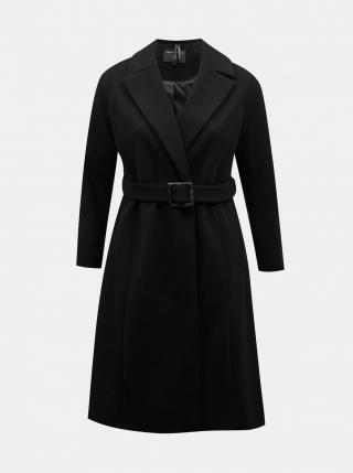 Dorothy Perkins Curve Black Coat dámské čierná 46