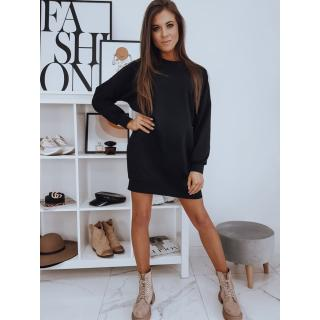 DOVE black dress EY1453 dámské Neurčeno One size