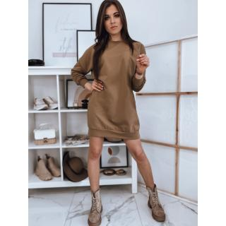 DOVE camel dress EY1454 dámské Neurčeno One size
