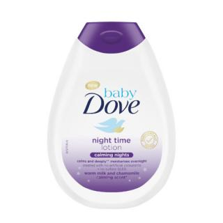Dove Telové mlieko pre deti s vôňou harmančeka Calming Nights Baby  400 ml