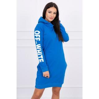 Dress Off White mauve-blue dámské Neurčeno One size