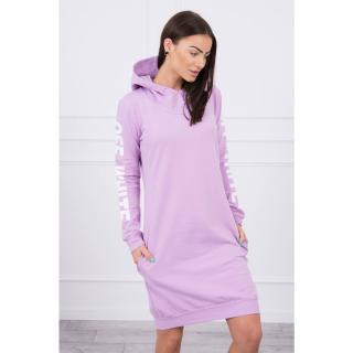 Dress Off White purple dámské Neurčeno One size