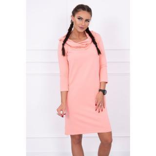 Dress with a hood and pockets apricot dámské Neurčeno One size
