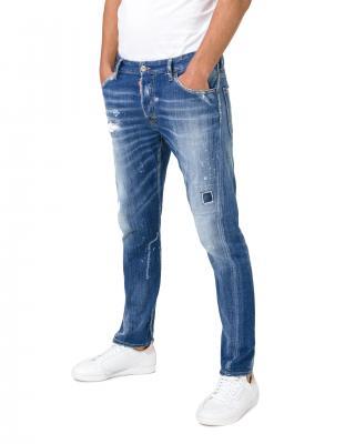 DSQUARED2 Sexy Twist Jeans Modrá pánské IT-52