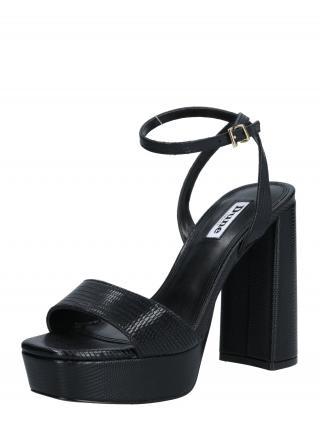 Dune LONDON Sandále MALIN  čierna dámské 38