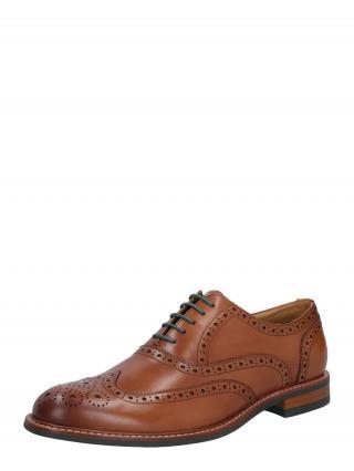 Dune LONDON Šnurovacie topánky  karamelová pánské 44