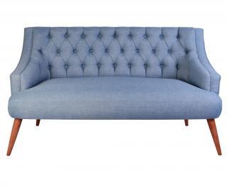 Dvoumístná pohovka Penelope Indigo Blue Modrá