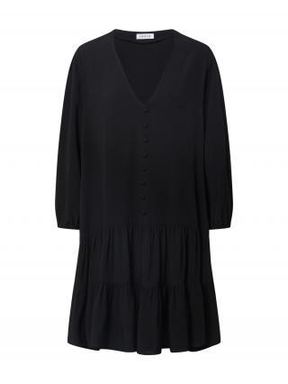 EDITED Košeľové šaty Eileen  čierna dámské 34