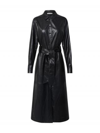 EDITED Košeľové šaty Helena  čierna dámské 34