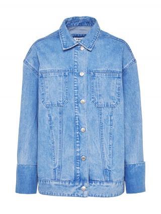 EDITED Prechodná bunda Fina  modrá denim dámské M