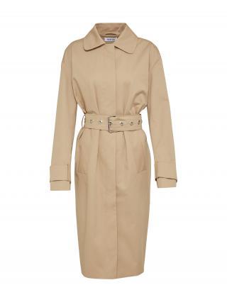 EDITED Prechodný kabát Romy  béžová dámské M
