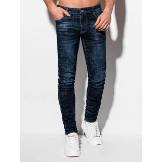 Edoti Mens jeans P1013 pánské Blue 30