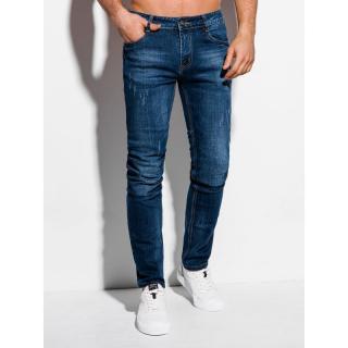 Edoti Mens jeans P1014 pánské Blue 30
