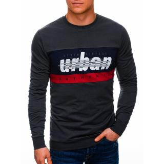 Edoti Mens sweatshirt B1290 pánské DARK GREY M