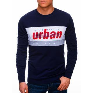 Edoti Mens sweatshirt B1290 pánské Navy M
