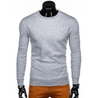 Edoti Mens sweatshirt B874 pánské Grey XL