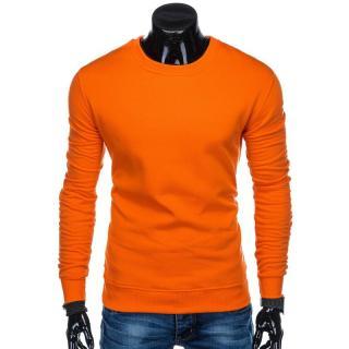 Edoti Mens sweatshirt B874 pánské Orange M