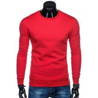 Edoti Mens sweatshirt B874 pánské Red L