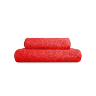 Edoti Towel A327 70x140 Red 70x140