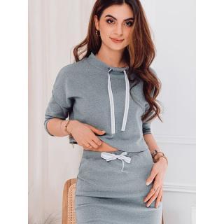 Edoti Womens blouse LLR002 dámské Grey XS