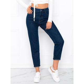 Edoti Womens jeans PLR017 dámské Navy XS