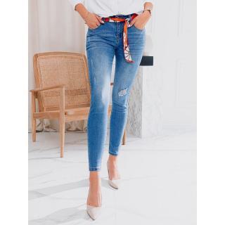 Edoti Womens jeans PLR029 dámské Blue 3XL