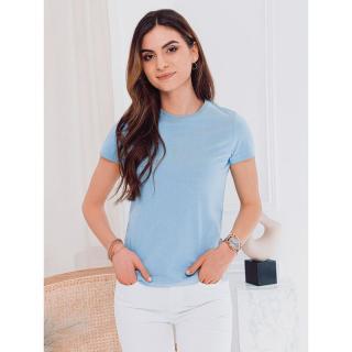 Edoti Womens plain t-shirt SLR001 dámské lazure S